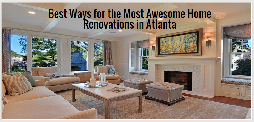 home renovations in Atlanta